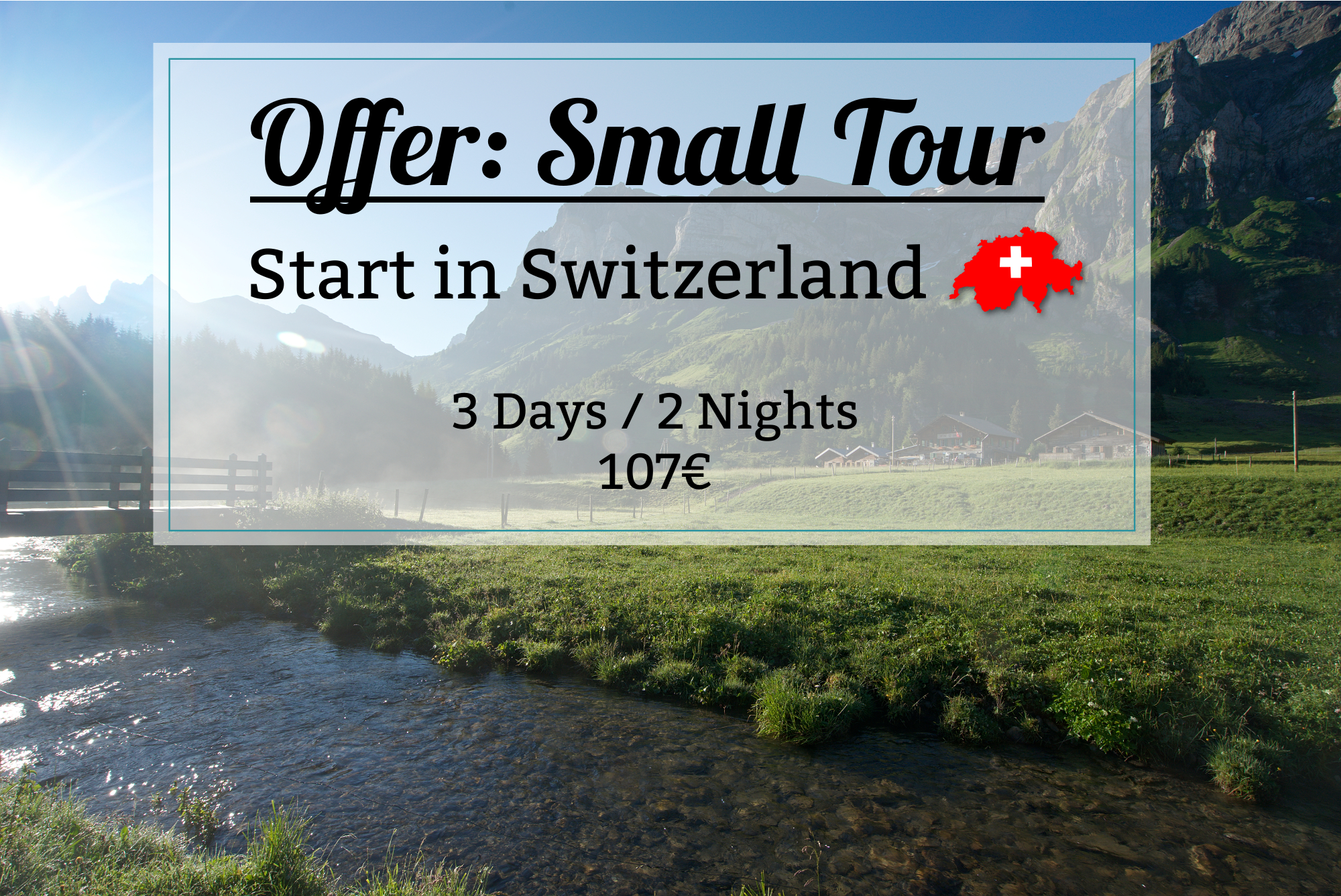 small tour switzerland - dents blanches